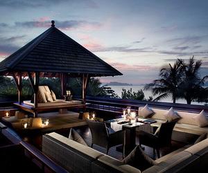 luxury, sea, and beach image