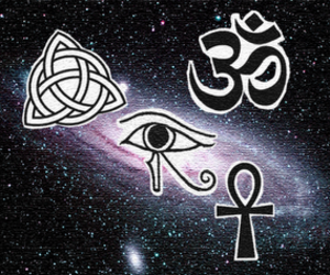 3, ankh, and eye of horus image