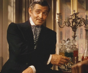 clark gable, Gone with the Wind, and handsome image