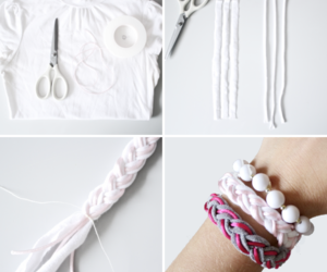 bracelet, braid, and diy image