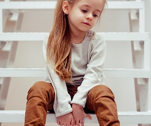 little girl, nice clothes, and cute image