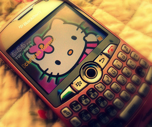 blackberry and hello kitty image