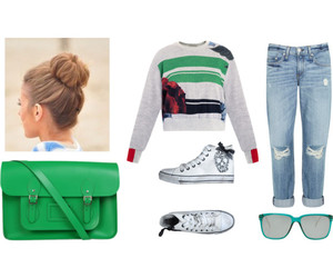 fashion, Polyvore, and Preen image