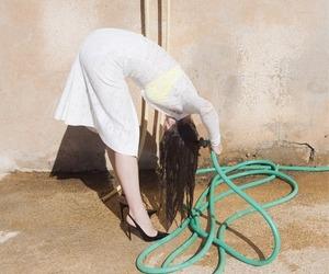 washing hair image