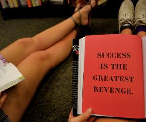 book, revenge, and inspiring image