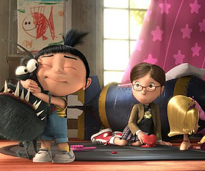despicable me and agnes image