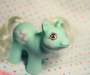 mint green and my little pony vintage image