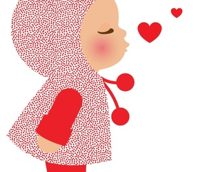 baby, heart, and cute image