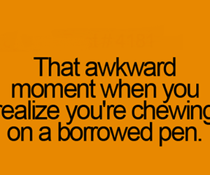 chewing, post, and awkward moment image