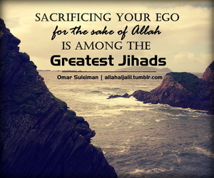 ego, jihad, and quotes image