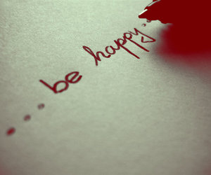 happy and be happy image