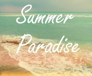 summer and paradise image