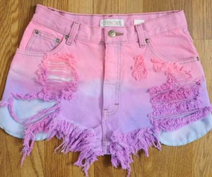 shorts, fashion, and pink image
