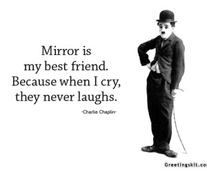 quote, charlie chaplin, and love image