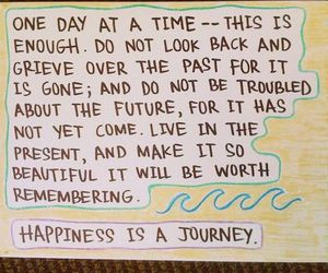 happiness, quote, and journey image