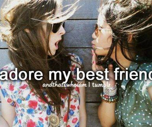friends, best friends, and adore image