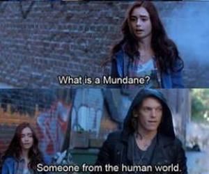 clary, jace, and the mortal instruments image