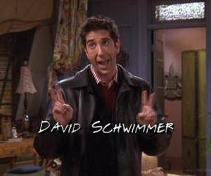 David Schwimmer, friends, and funny image