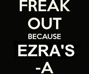 toby, pretty little liars, and freak out image
