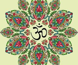 om and mandala image