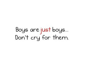 boy, cry, and quote image