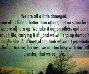 care, life, and quotes image