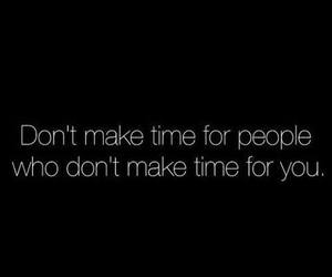 quote, people, and time image