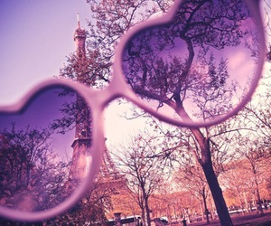 paris, sunglasses, and pink image