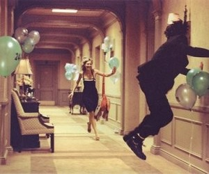 party, balloons, and couple image