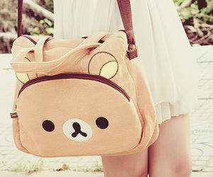 bag, rilakkuma, and japan image