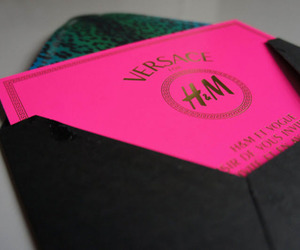 Versace, H&M, and pink image