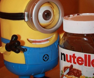 nutella and minions image