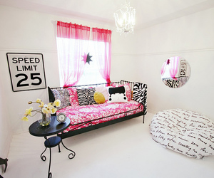 bedroom, girly, and modern image