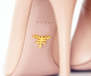 Prada, shoes, and pink image