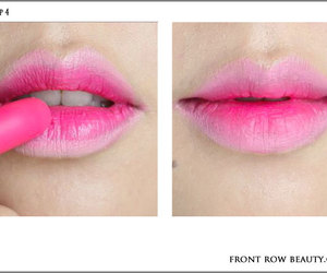 pink and lips image