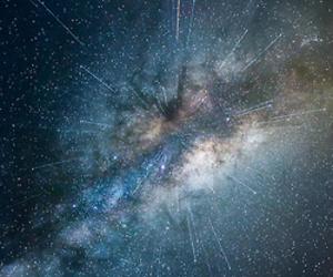 infinity, life, and universo image