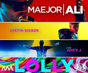 lolly, justin bieber, and juicy j image
