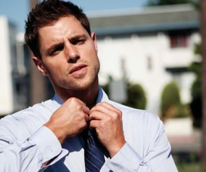 gg, hot guy, and tie image