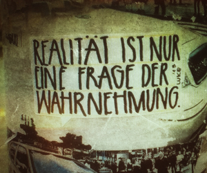 german, reality, and text image