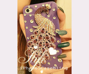 iphone 5 case, iphone 5 bling case, and peacock iphone 5 case image