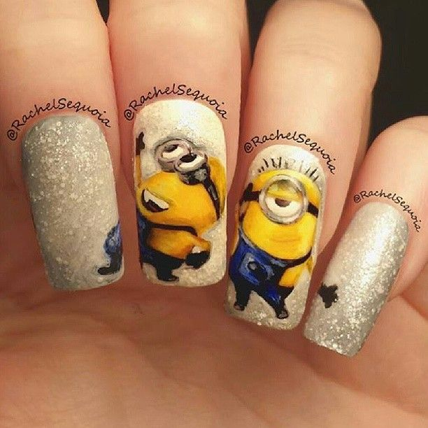 Despicable Me Minions Nails Discovered By Fancy Girl