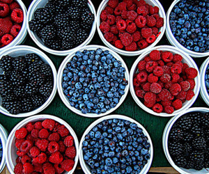 blueberries, pretty, and food image
