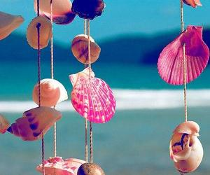 shells, summer, and beach party decoration image