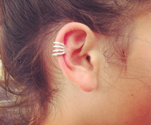 ear, earing, and summer image