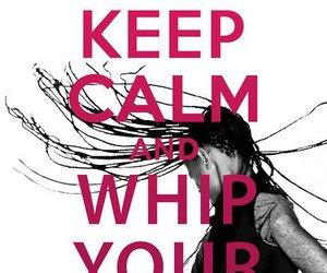 keep calm, willow smith, and hair image