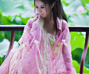 beautiful, chinese, and girl image