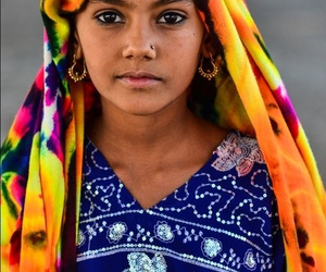 beauty, india, and woman image