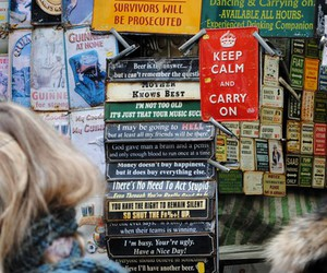 Notting Hill, england, and signs image