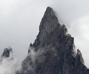 mountains and white image