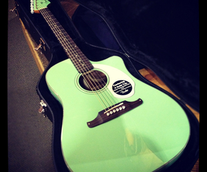 acoustic, fender, and guitar image